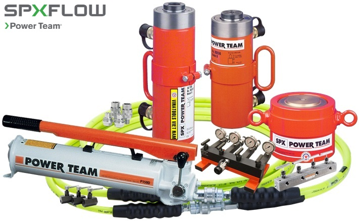 bom thuy luc Power Team P159D, Power Team hydraulic pump P159D, Option