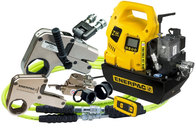 co le thuy luc Enerpac W8000, Enerpac low hydraulic torque wrench W8000, Option